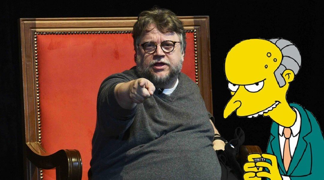 Guillermo del Toro aparecerá en el capítulo 101 de Los Simpsons
