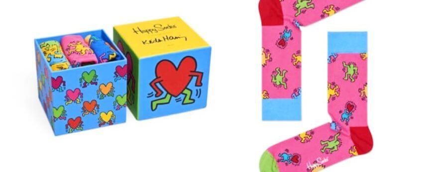 Happy Socks y Keith Haring presentan estas piezas