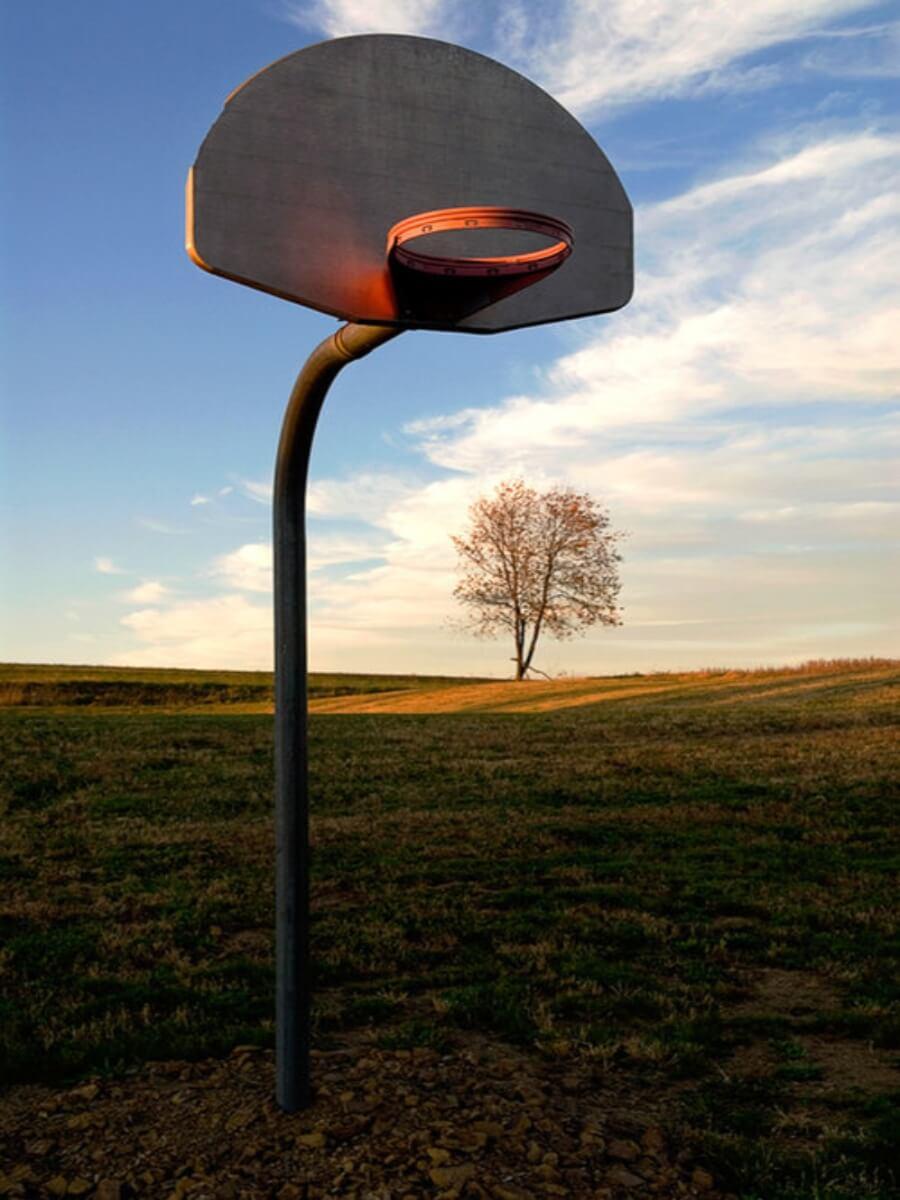 Hoops muestra los aros de basquetbol de todo el mundo
