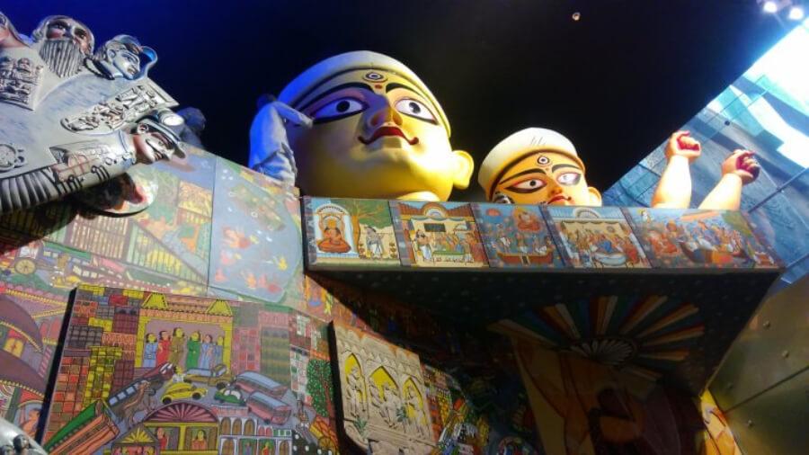 Gran museo dentro del aeropuerto internacional de Mumbai