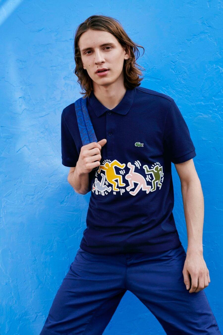 Keith Haring y Lacoste lanzan colección SS19