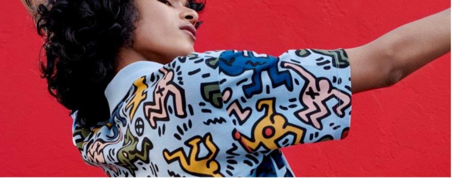 Keith Haring y Lacoste presentan la colección más cool