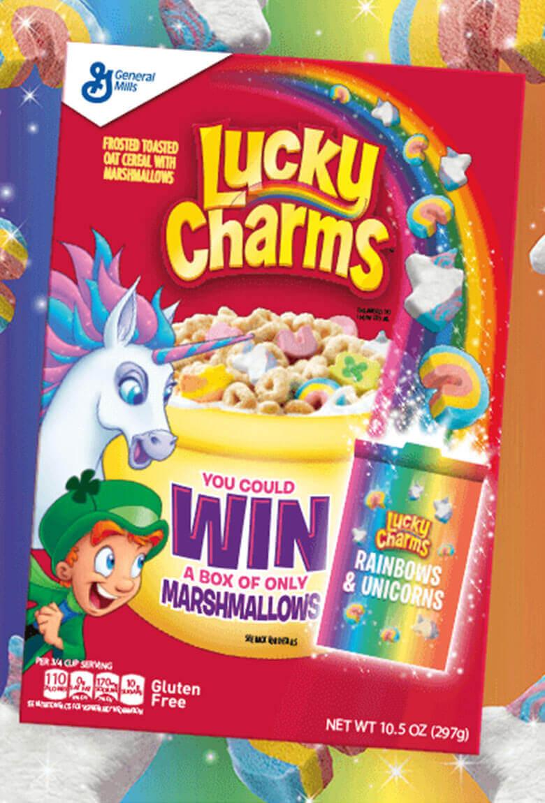 Lucky Charms regala 15,000 cajas de cereales raros