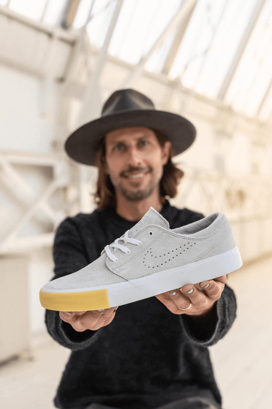 Silueta Zoom Janonski de Nike Skateboarding