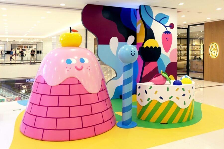 Rick Berkelmans crea mundos coloridos con personajes infantiles