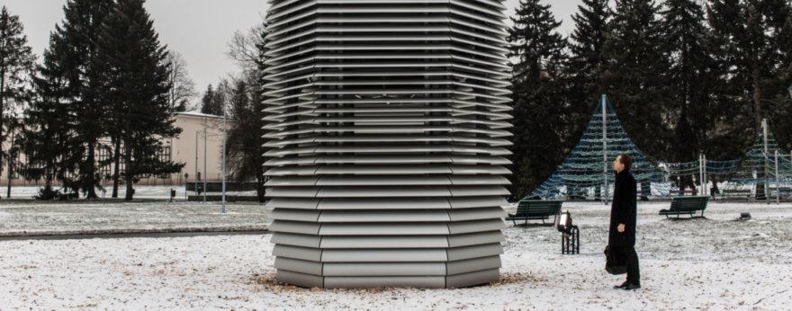 Obras de Daan Roosegaarde en pro del medio ambiente