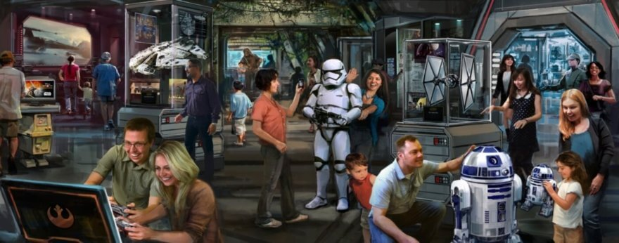 Star Wars: Galaxy's Edge, the new Disney attraction