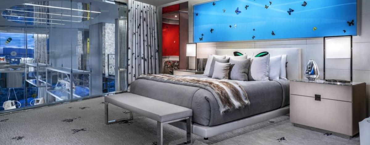 Suite de 100 mil dólares diseñada por Damien Hirst