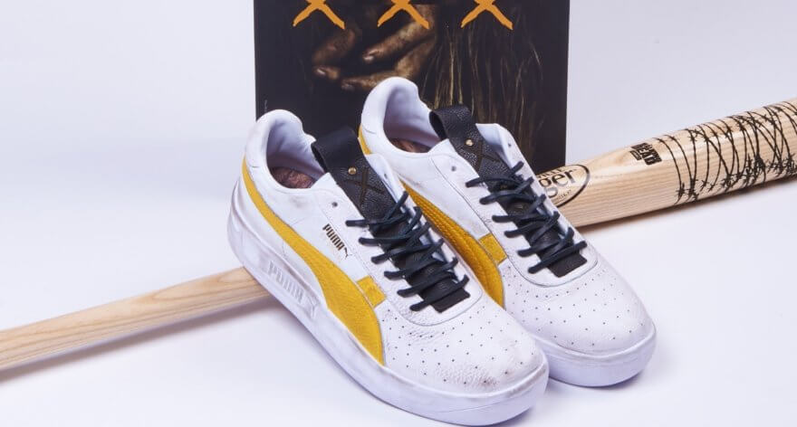 The Walking Dead y PUMA lanzan sneakers creepy
