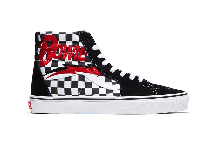 Vans inspired by David Bowie