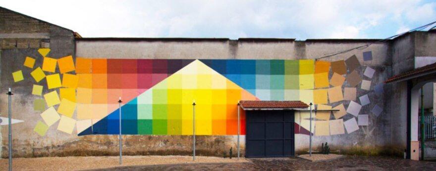 Alberonero, colores y prismas en la arquitectura