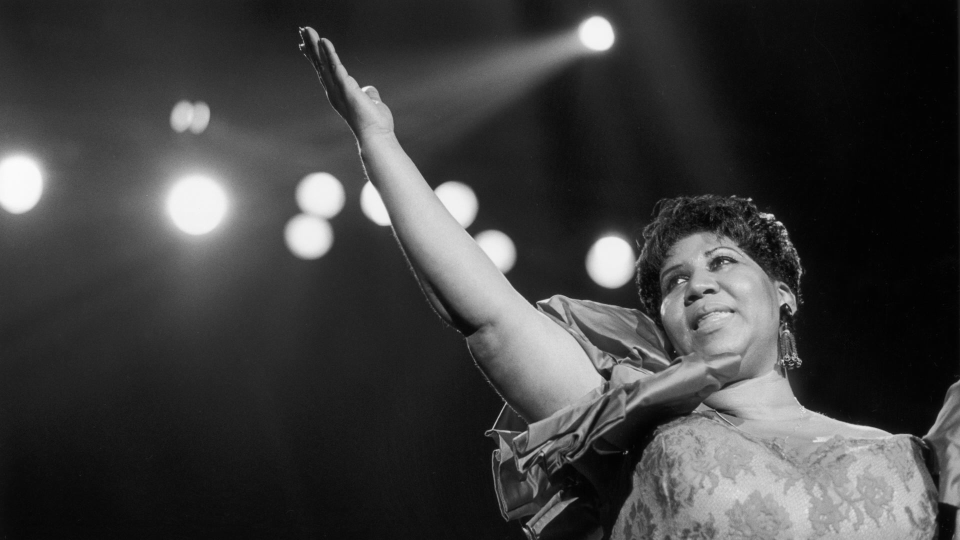 Aretha Franklin en Festival de JAzz de Nueva Orleans de 1994
