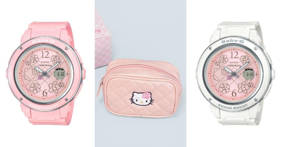 Casio presentó BABY-G by Hello Kitty