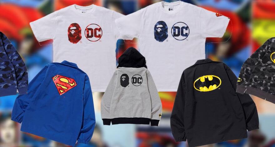 Bape y DC lanzan nueva colaboración
