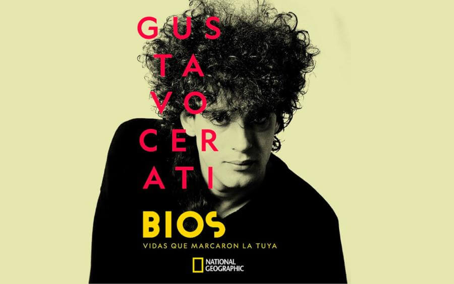 Poster Bios Gustavo Cerati de National Geograhic