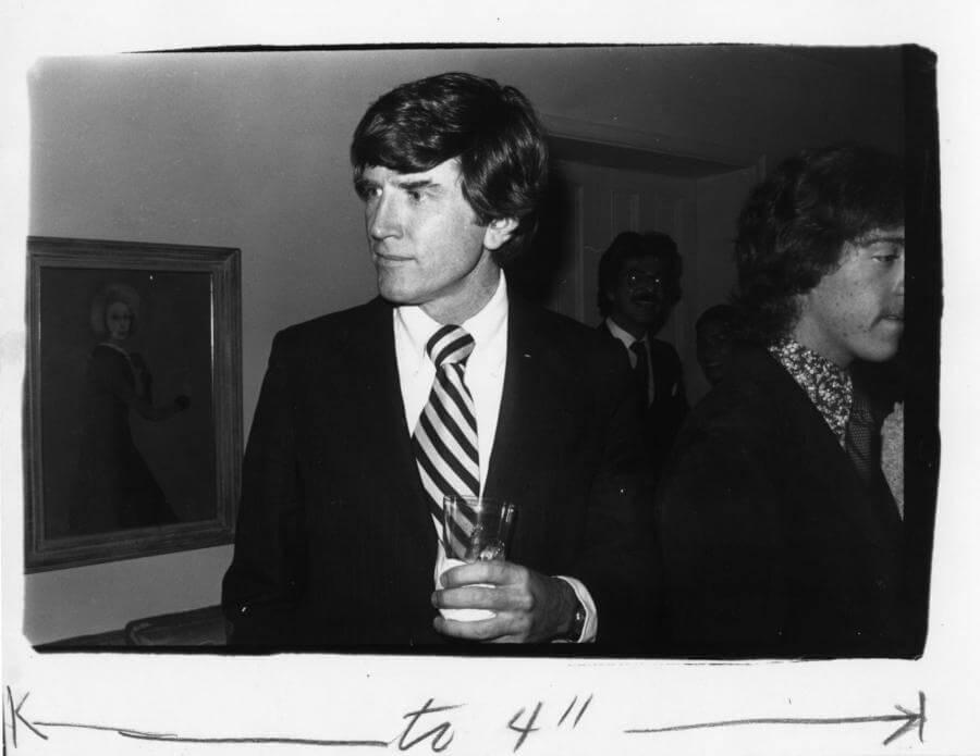 Gary Hart, Inauguración del Presidente Carter, 1977 Estampado de gelatina de plata de época 8 x 10 pulgadas (20.3 cm x 25.4) © Bob Colacello;