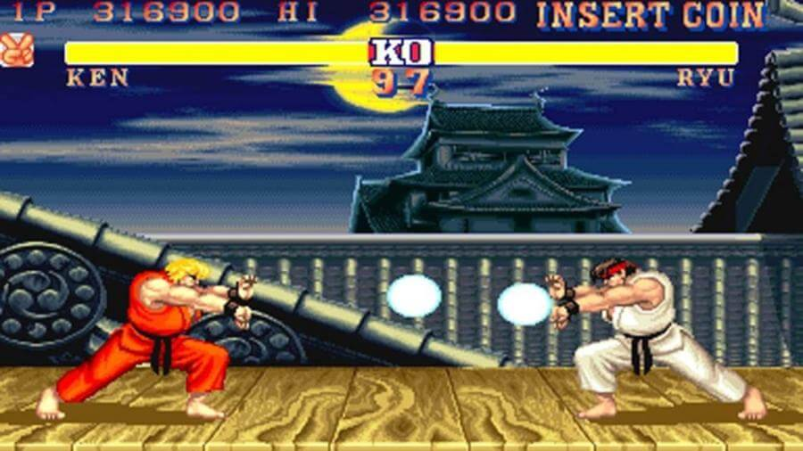 Street Fighter II, juego en Capcom Arcade Home