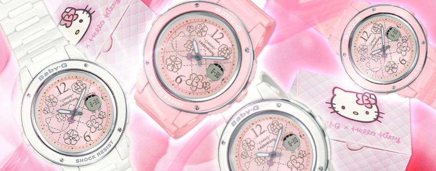 Casio presenta BABY-G by Hello Kitty