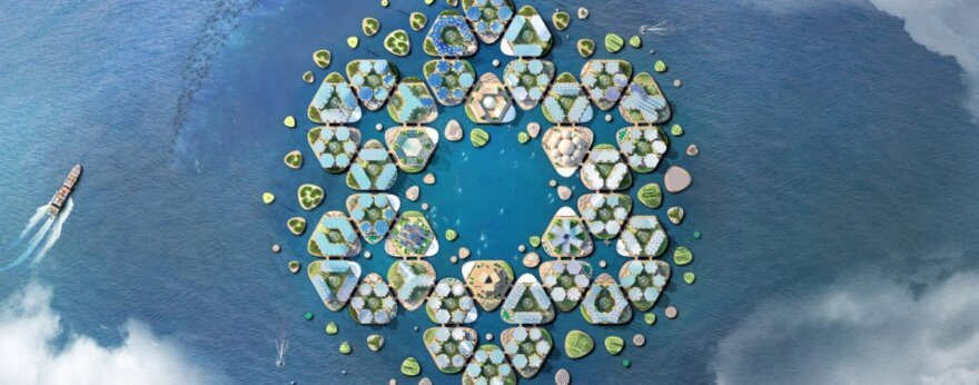 Ciudades flotantes, el nuevo proyecto de BIG y Oceanix