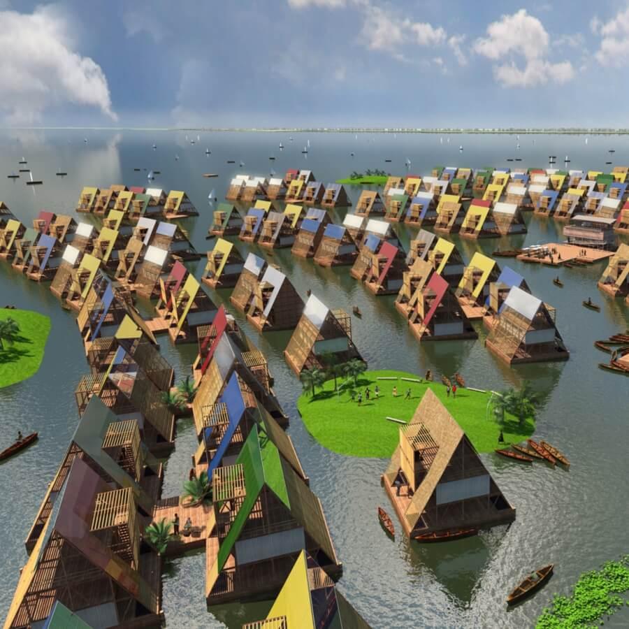 Ciudades flotantes, el nuevo proyecto de BIG