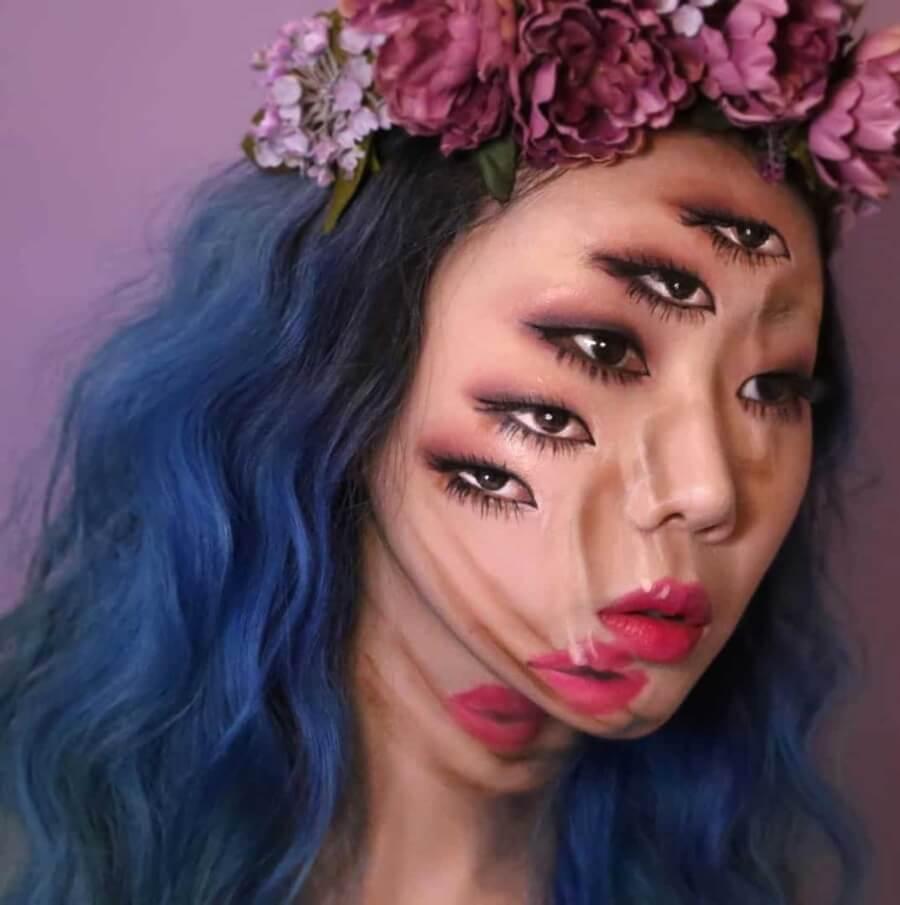 Dain Yoon hace del maquillaje una obra de arte