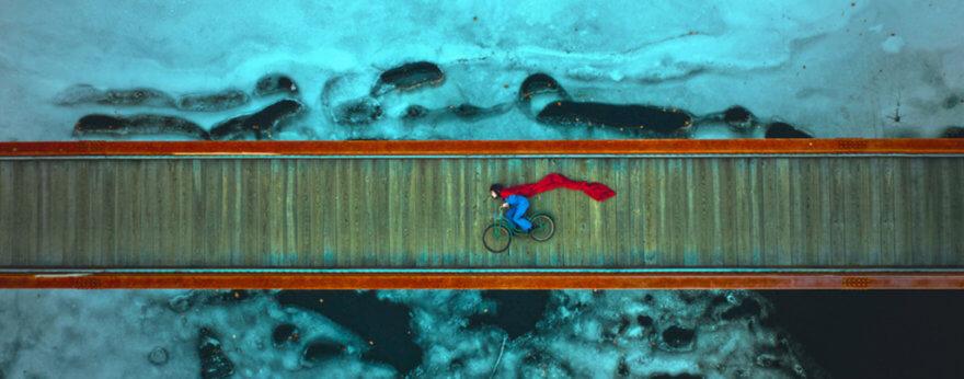 Proyecto fotográfico de fantasía con drones