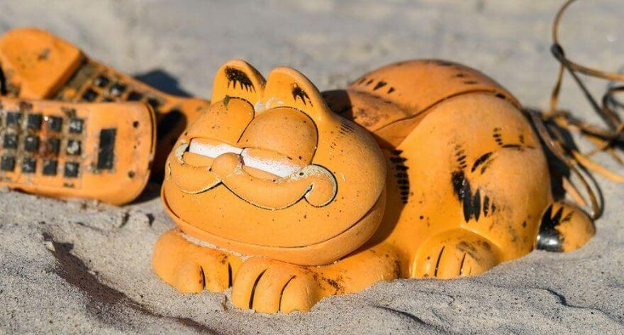 El misterio de los teléfonos Garfield al fin se ha resuelto