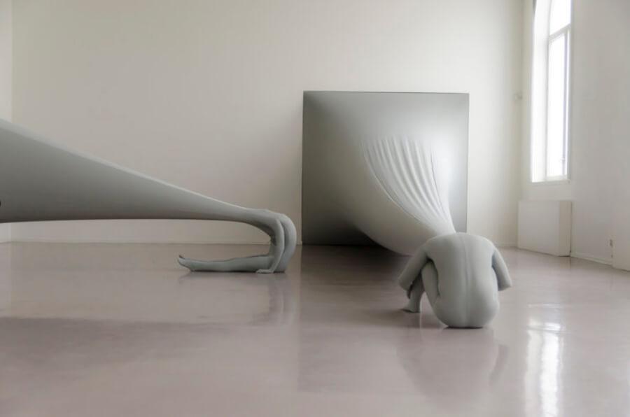 grandes instalaciones del artista sueco Malin Bulow
