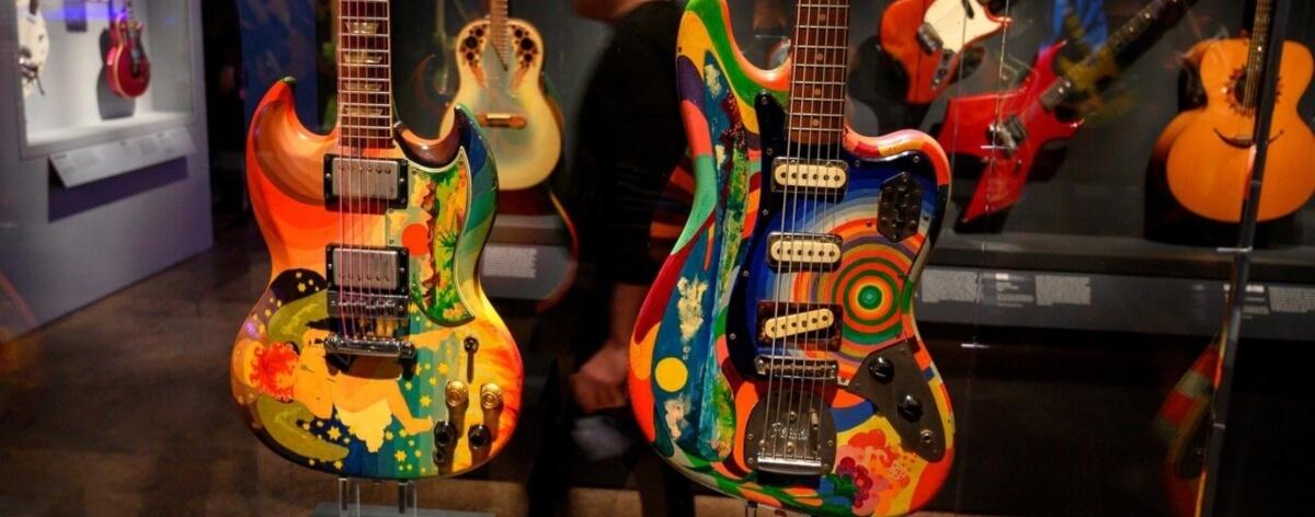 Exposición musical y rockera en el Met de NY