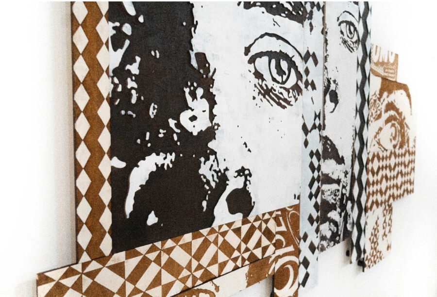 Felipe Phantone y VHILS en Configurable Art