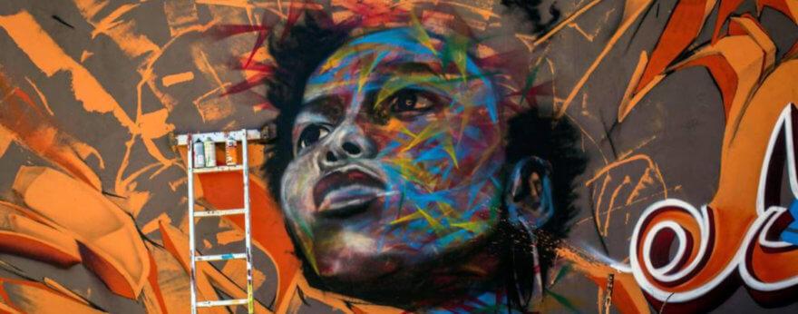 Festival de Graffiti decora la capital de Senegal