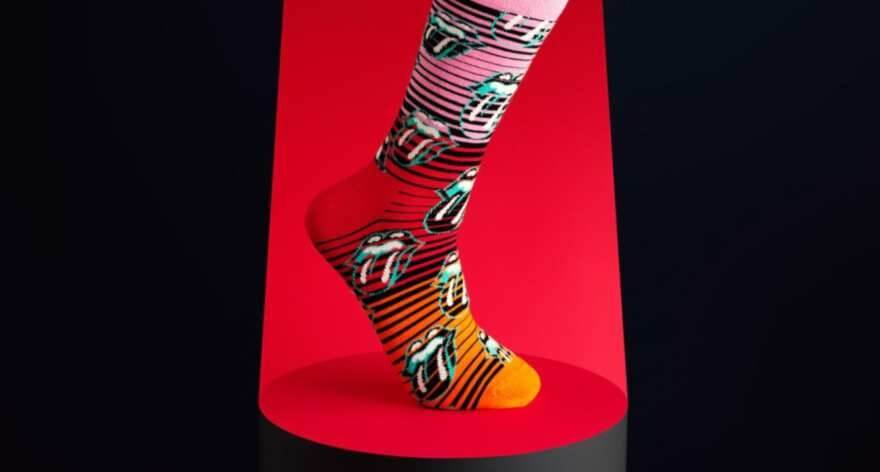 Happy Socks y Rolling Stones lanzan calcetines