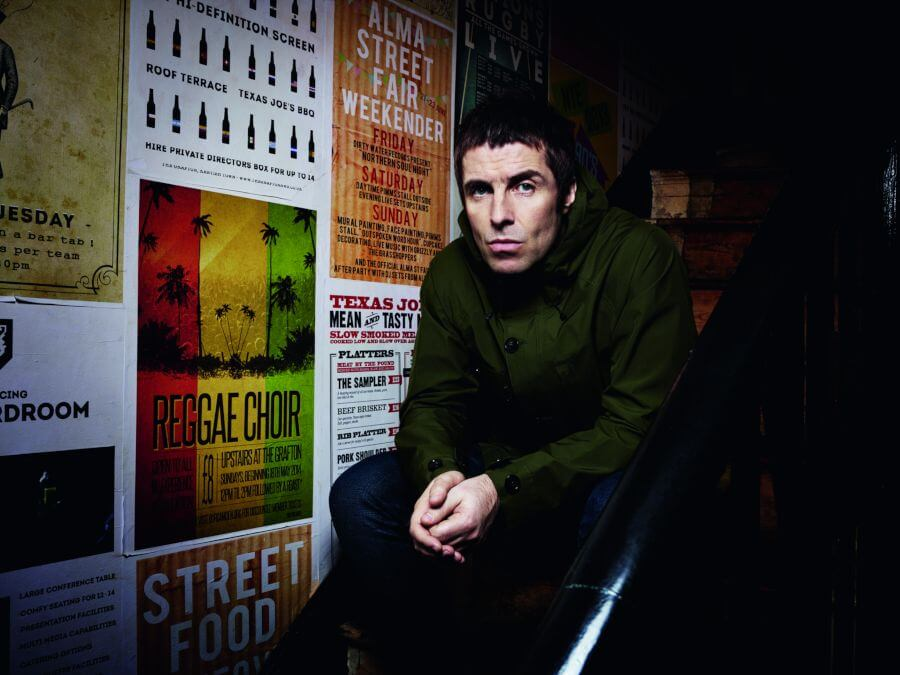Retrato de Liam Gallagher