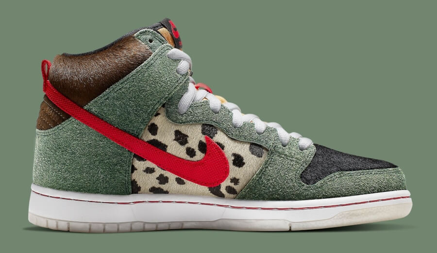 "SB Dunk High ""Dog Walker en nuevo modelo de Nike"
