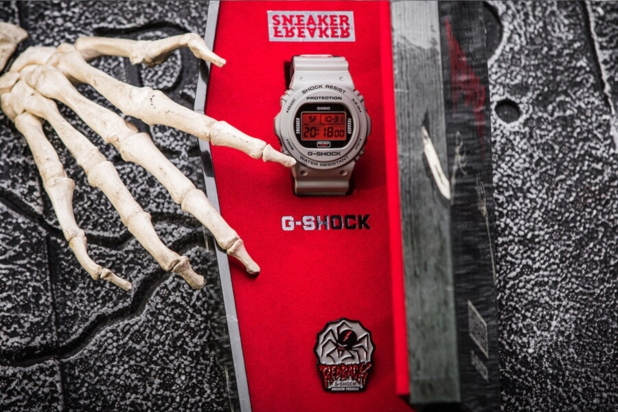 G Shock y All City Canvas te regalan un reloj