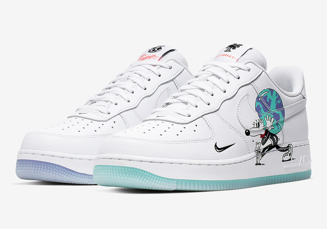 Steve Harrington x Nike Air Force 1