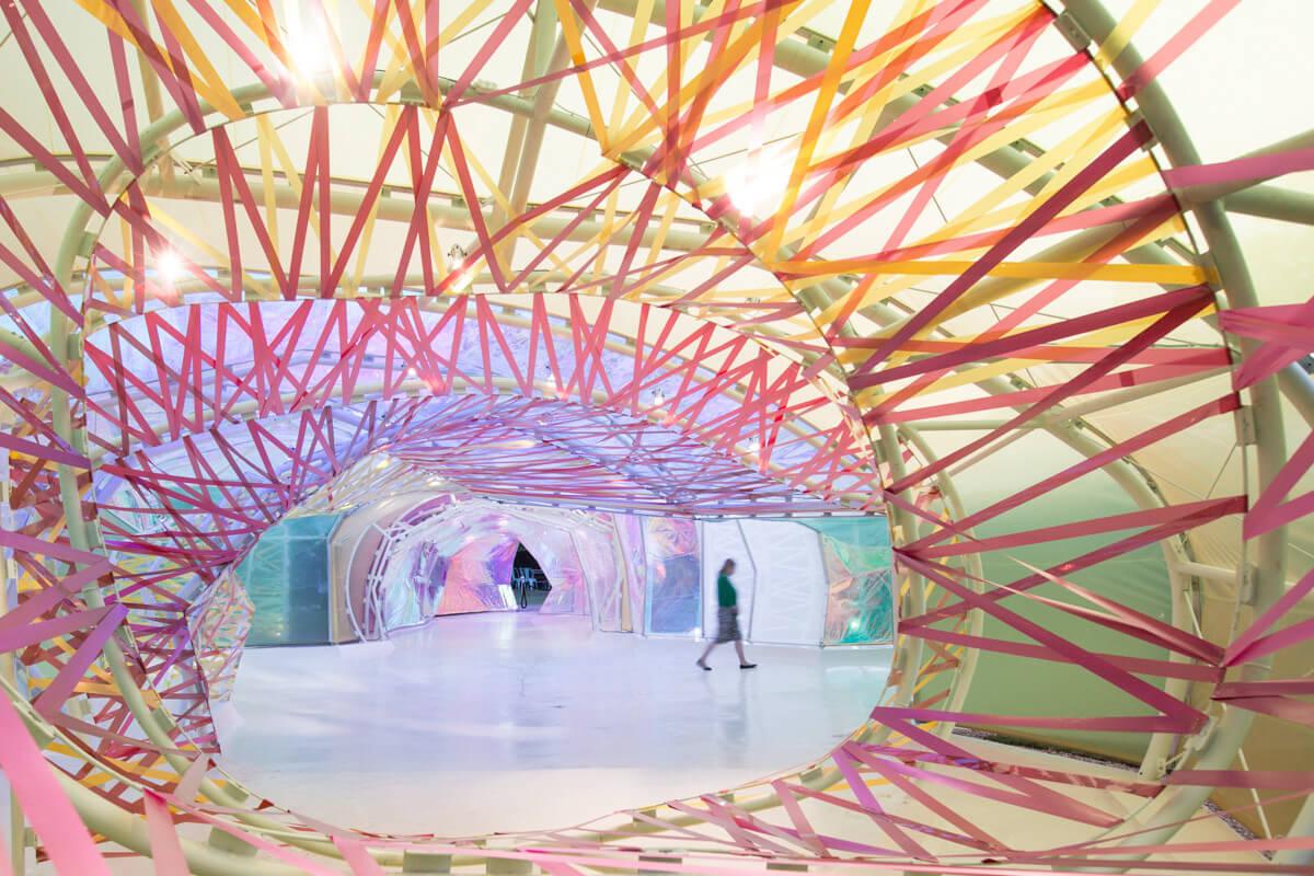 estudio español de arquitectura SelgasCano lleva su pabellón a Los Angeles