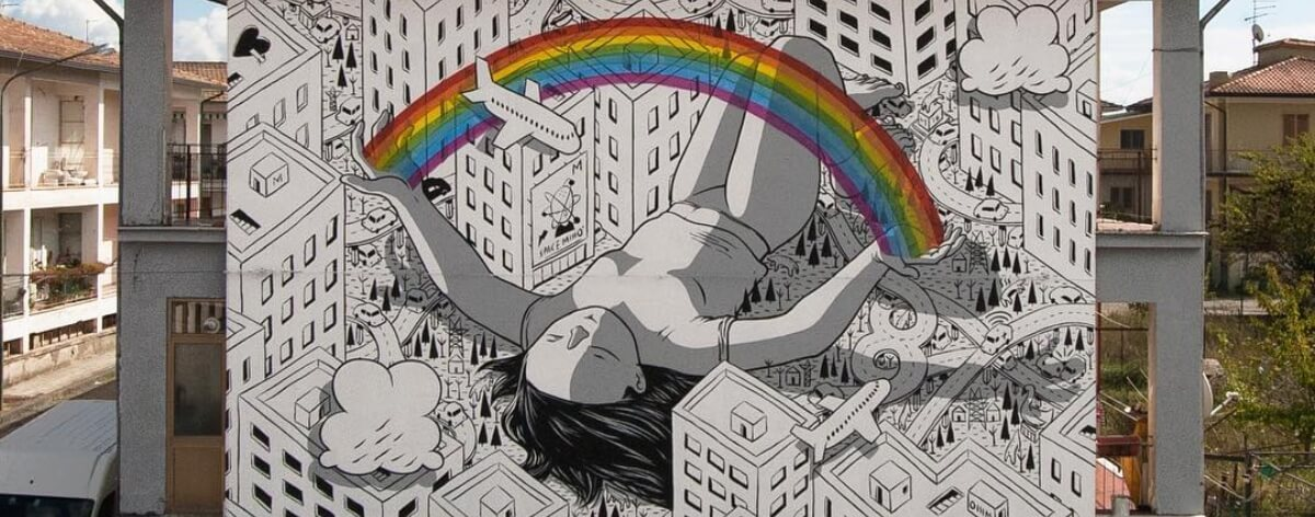 Millo y sus figuras gigantes con All City Canvas