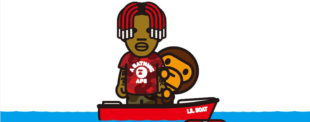 Bape y Lil Yachty lanzan colaboración