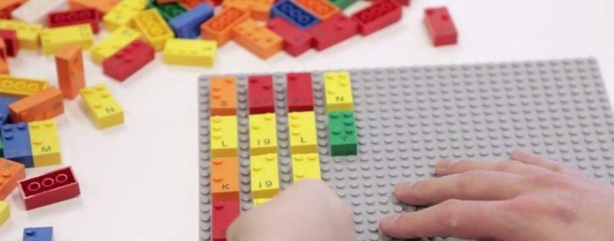 Lego estará disponible en  versión Braille