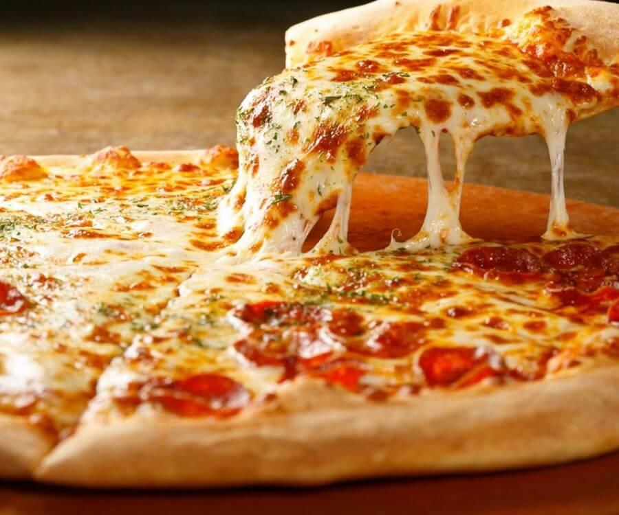 fotografía de pizza