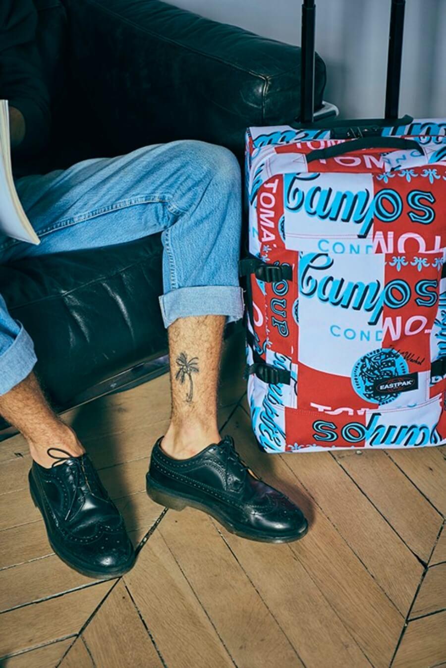 Colección de Eastpak y Andy Warhol