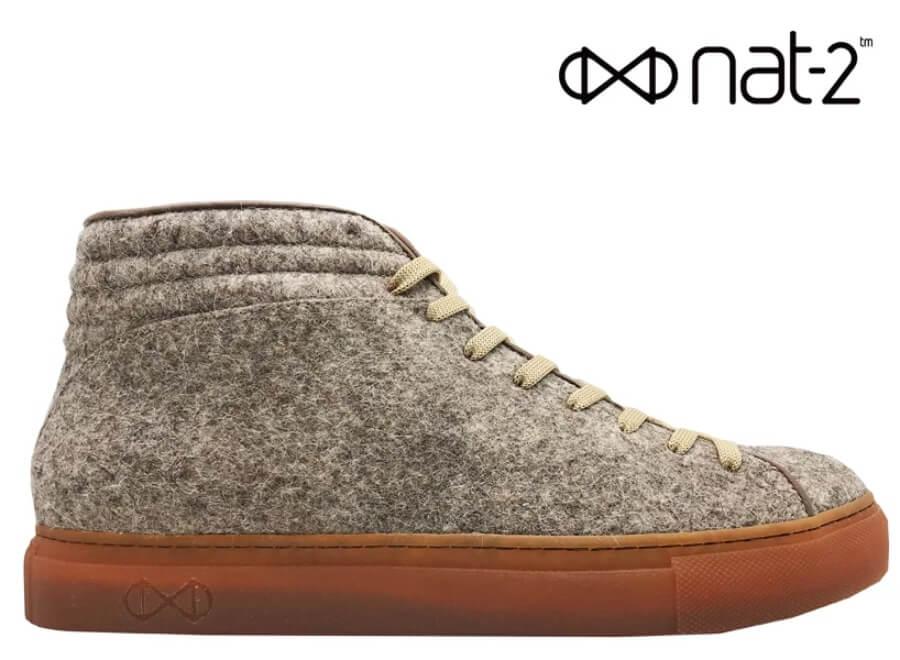 Nat-2 estrena estos zapatos amigables con el ambiente