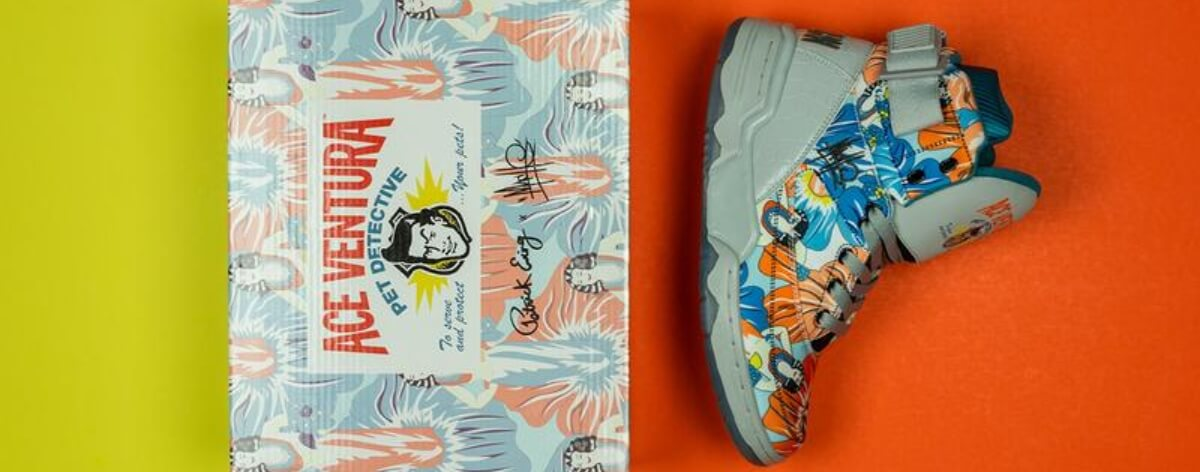 Ewing Athletics homenajea a 'Ace Ventura' con sneakers