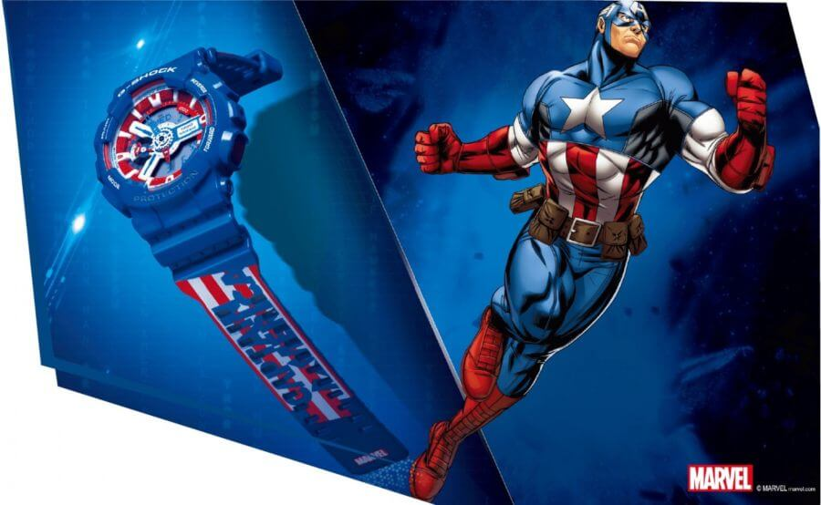 G Shock x Marvel