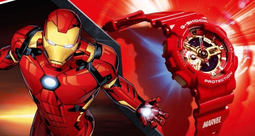 G Shock x Marvel lanzan relojes de algunos héroes