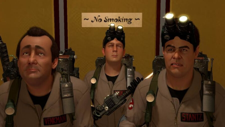 Ghostbusters the video game con remasterización