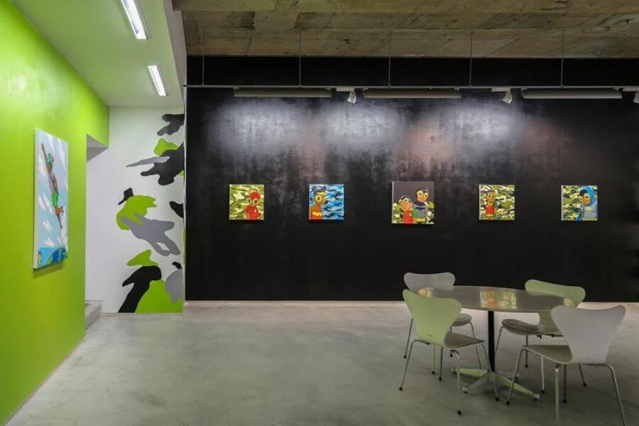 exposición de Hebru Brantley en Tokio