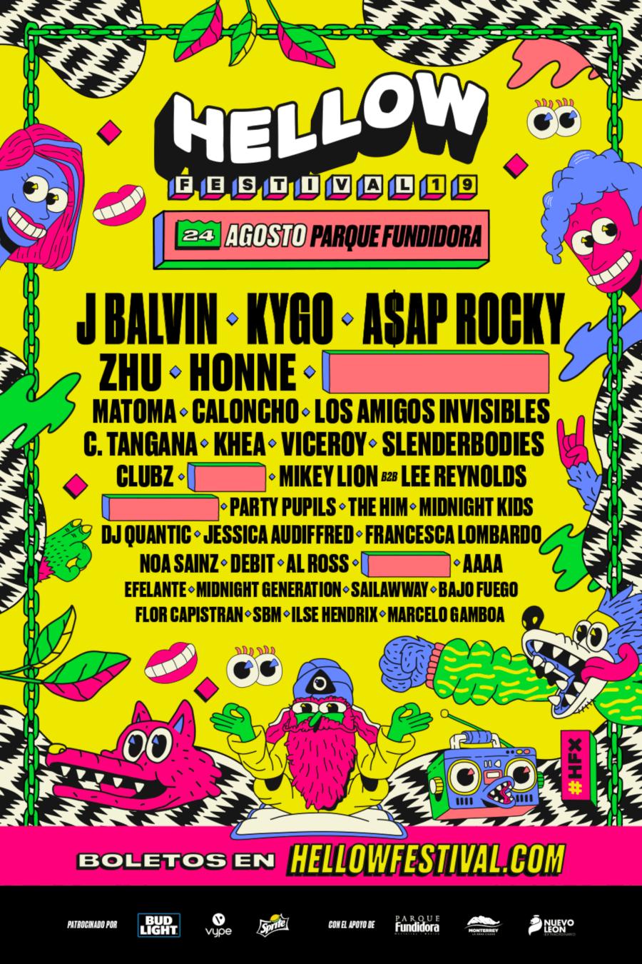 Cartel del Hellow Festival 2019