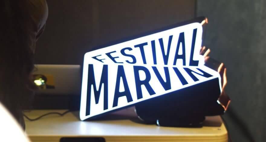 Horarios del festival Marvin listos